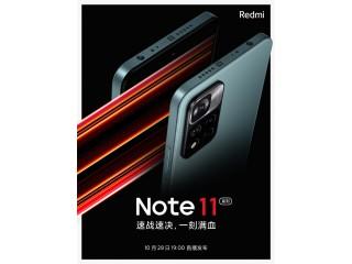 Xiaomi показала Redmi Note 11 на постере и назвала дату анонса