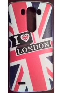 "Чехол накладка для LG G3 ""London"". Акция 1+1!!!"