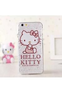 "Силиконовый чехол для Apple iphone 6 ""Hello Kitty"""