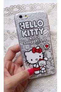 "Силиконовый чехол для Apple iphone 6 ""Hello Kitty №1"""